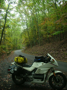 Road down from Roanoke Mtn.
