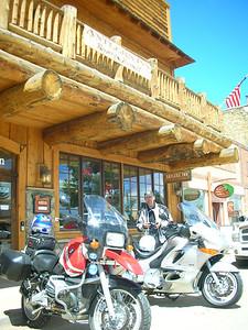 Lunch break at the Antlers Inn in Walden