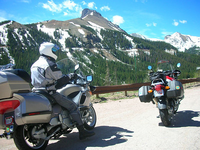 West of Cameron Pass on CO 14