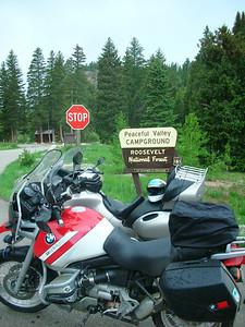 Along Peak to Peak Hwy