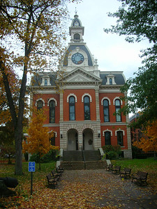 Elk Co courthouse, Ridgway