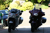 You're looking at about 250,000 miles on just those two bikes, and they both are still running strong.