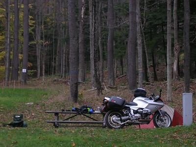 Lyman Run campsite.