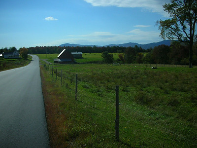 Near Jeffersonville, VT.