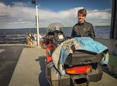 Plattsburgh ferry crossing.