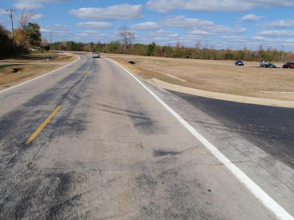 Roads around Columbus