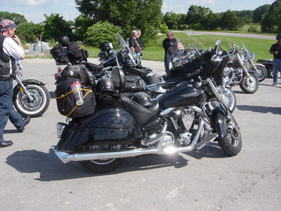Vince's ride