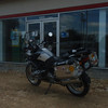 First in line at the soon to be BMW dealership. Also Triumph, Moto Guzzi, Aprillia and Vespa!