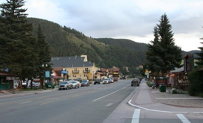 Red River, NM, was a charming little town.