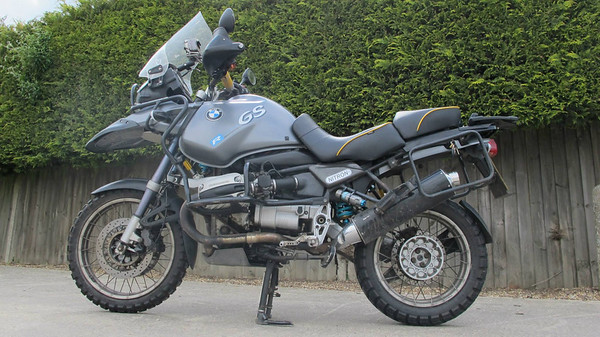 Rugged Roads - Nitron Suspension BMW R1150GS