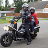 Rukus Rides : Big Rukus Rides with Mom. Anitra took all three gals for a ride on her Rukus. I see a few more scooters in our future:)