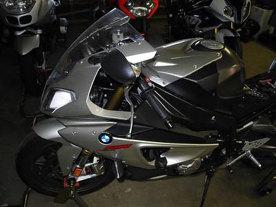 S1000RR track conversion