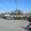 Had quite a turnout after a great morning ride.