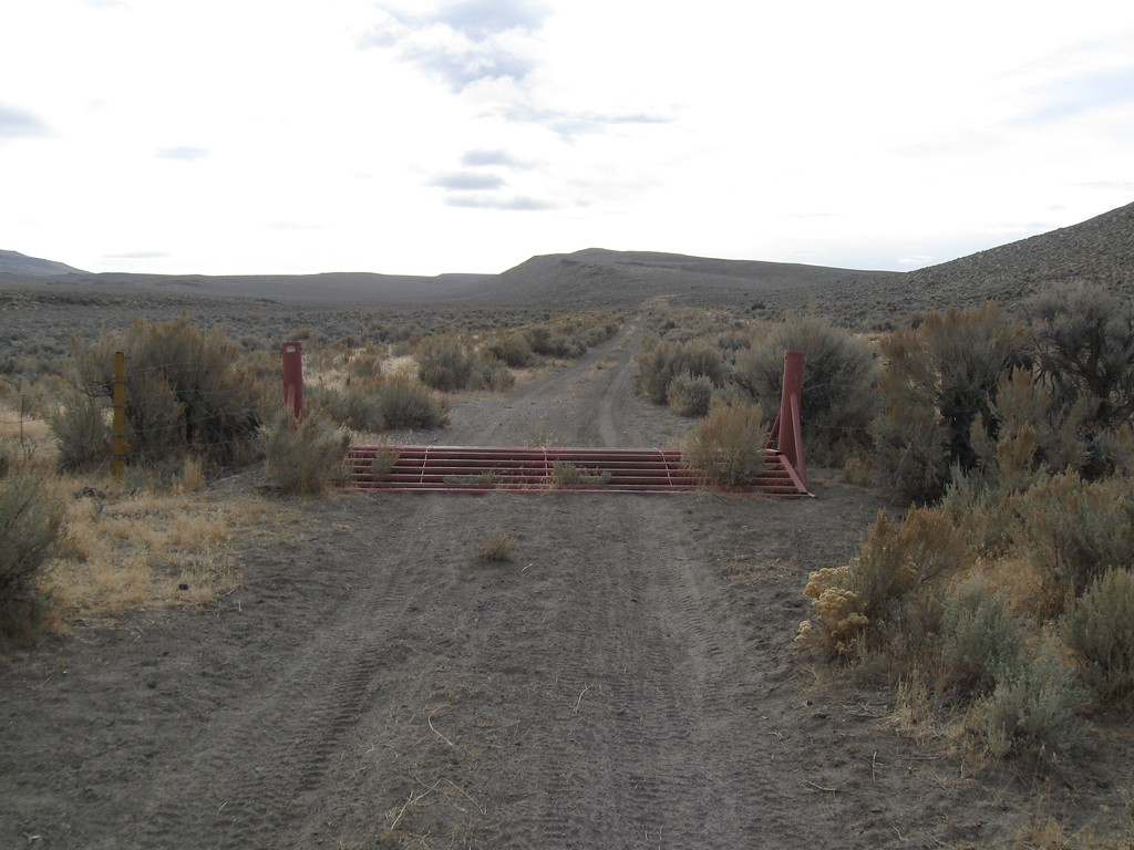 The stupid cattle guard on easy route, Fandango Canyon Rd