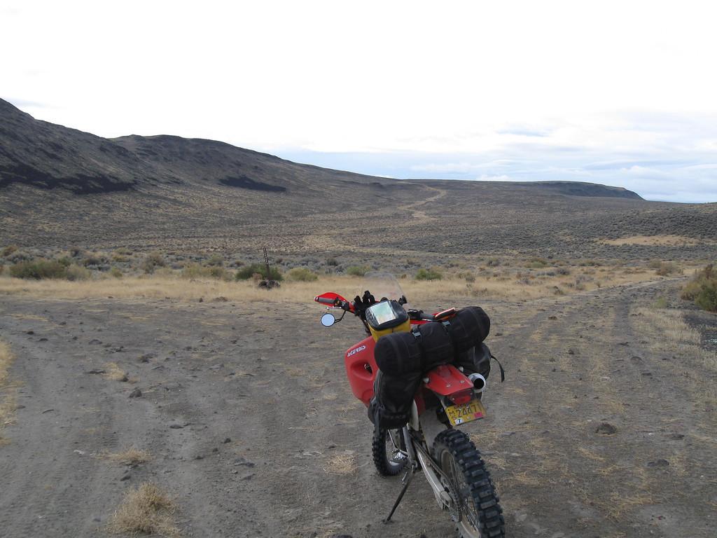 Hard to left, easy to right, Fandango Canyon