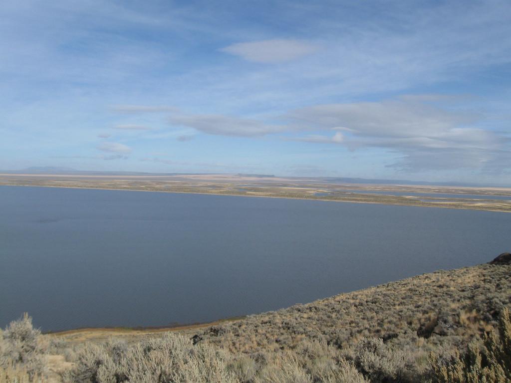 Lake in Warner Valley, North of Plush