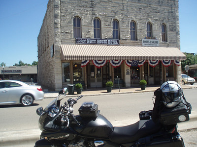 Father's Day Ride 2010: Granbury, TX town square