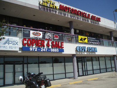 Father's Day Ride 2010: Moto Liberty Dallas, the best little gear store in Texas.  http://motoliberty.com/