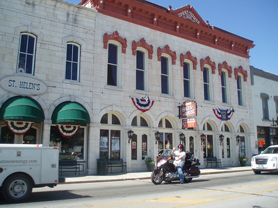 Father's Day Ride 2010: Granbury, Opra House