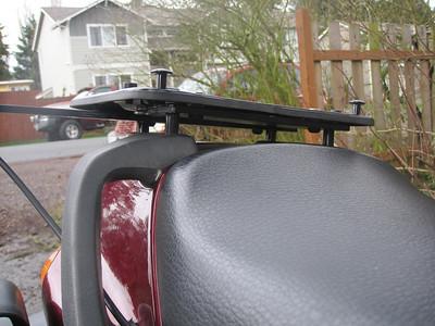 Rear facing close-up