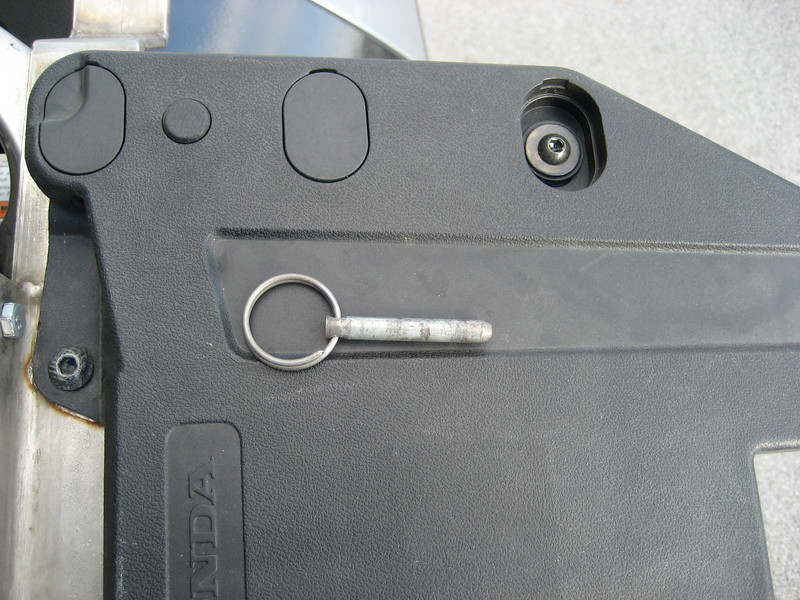 This is used to secure the rear of the cell to the rack.