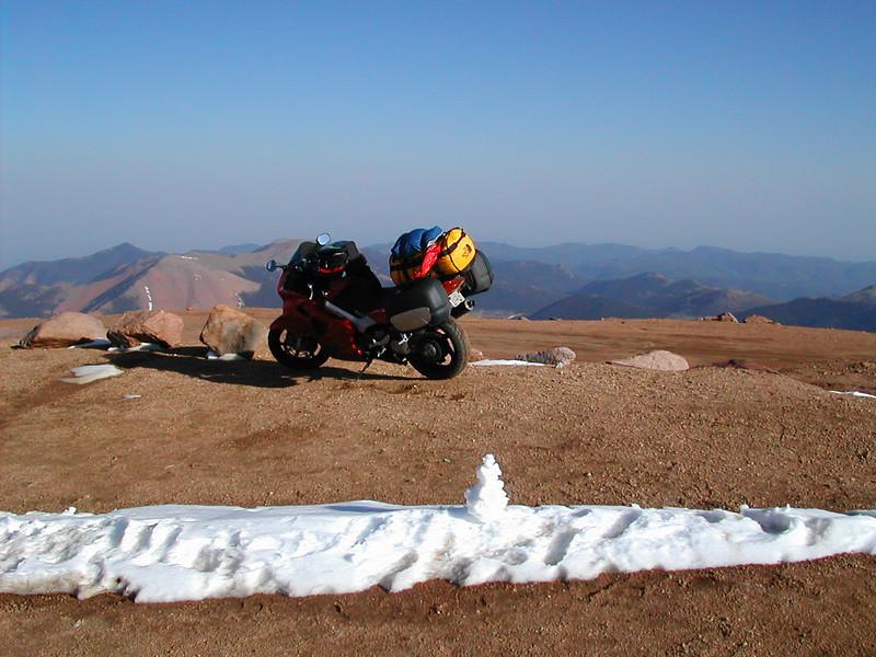 Pikes Peak Summit - 14,100 feet