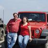 Paul and Ann on the heli pad near Sierra peak...we think?