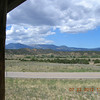 View west from a small rest area on CO69 before Westcliffe.