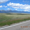 Sangre de Cristo Mountains on the west side of the valley.