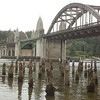 Siuslaw River Bridge in Florence, OR
