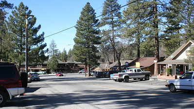 Idyllwild was a very cute little mountain town in the pines.