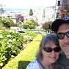 Looking down Lombard St in San Fran.