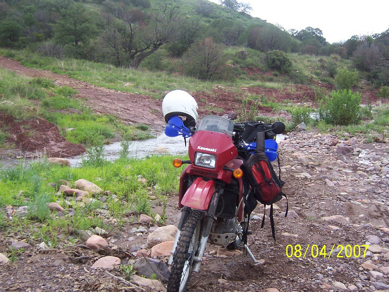 If they'd all owned a KLR they'd have realized that there was nothing that could be done to improve the KLR's engine performance... so we'd have spent a few minutes asking about what oil each of us uses and whether the doohickey was modified and the rest of the time taking in the scenery.