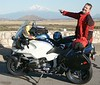 Steve points out Mt Shasta<br /> 2005