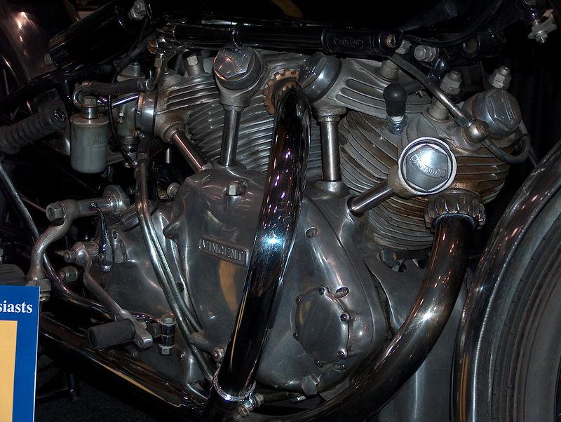 love the Vincent motors...just looks tough!