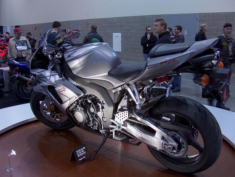 Honda's CBR liter-bike....hot!