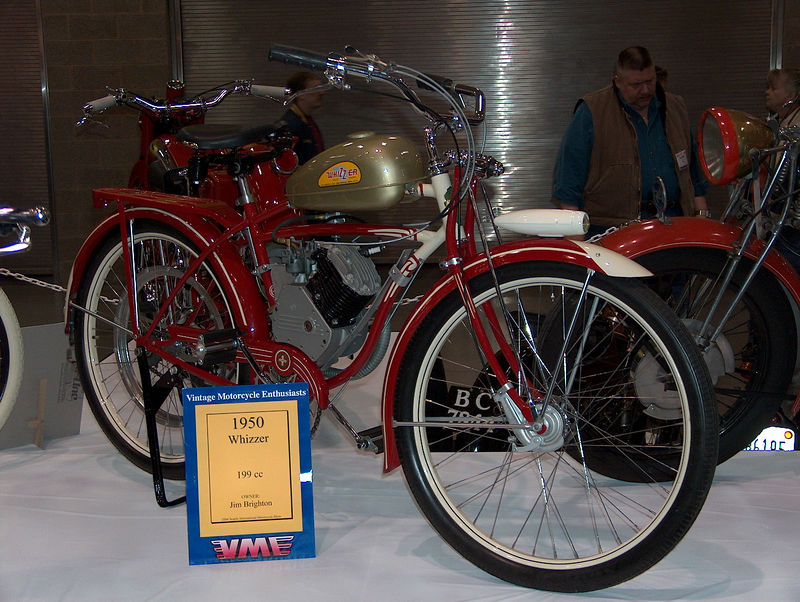 they had some neat old restored bikes too