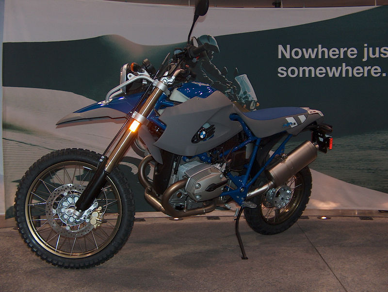 The HP2.  Basically, a tall, naked R1200GS for $20K...nice bike but no thanks