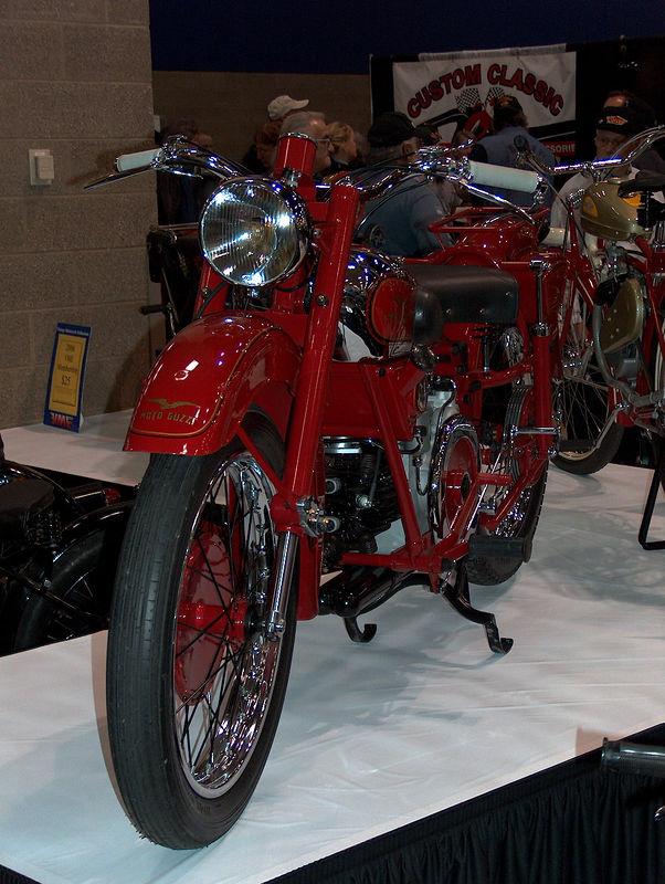 a really old Moto-Guzzi