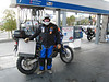All fueled up in Carson City, Nevada and ready to ride the Pony Express trail!