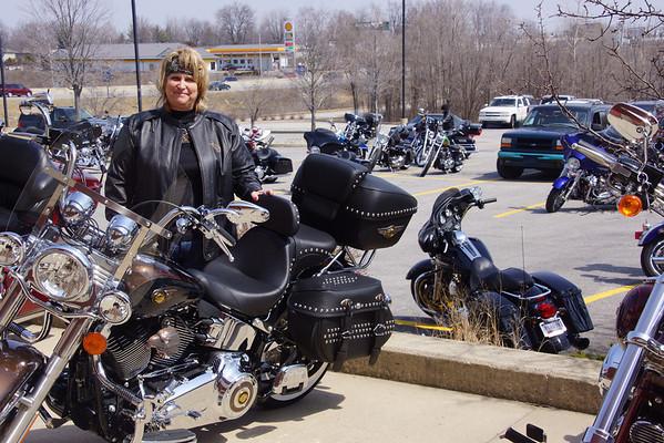 Sheryl's bike