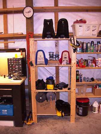 The new shop... a work in progress