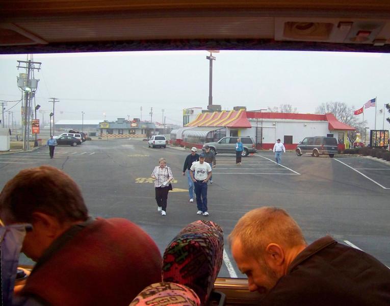 Breakfast at McDonalds in Litchfield, IL.