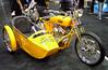 A Drag Specialties sidecar rig.