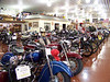There are 155 bikes on display.