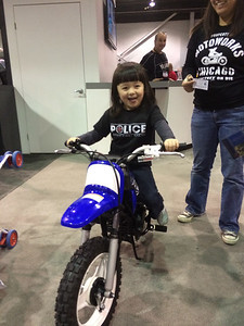 Chloe LOVES the PW50