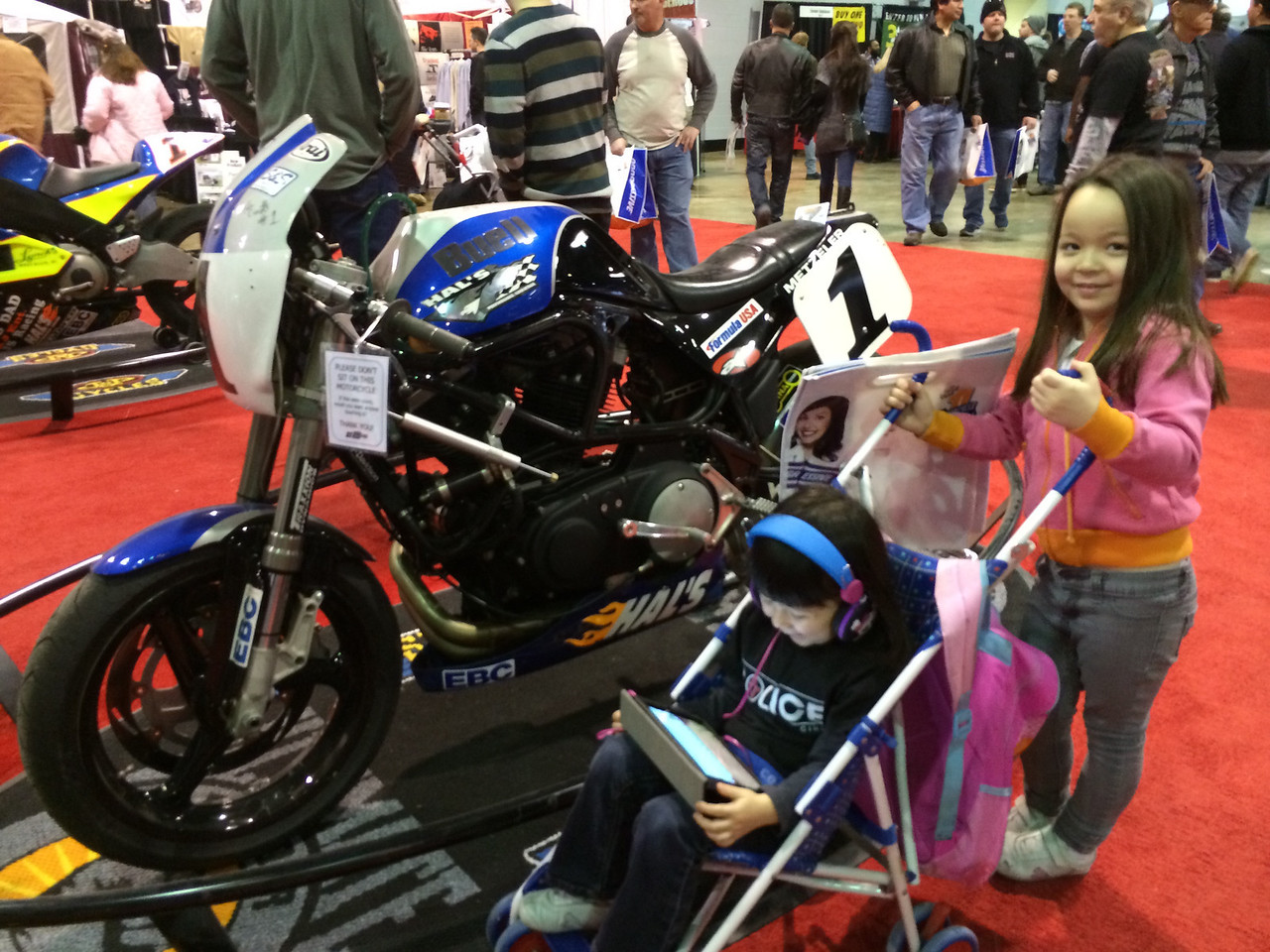 More Buell racing.. and an iPad
