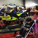 Keira, Chloe and Buell Racing