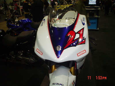 John Hopkins GSVR MotoGP Bike
