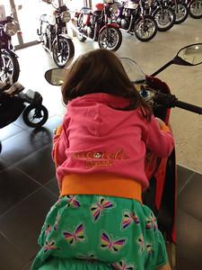 Already sporting Ducati colors